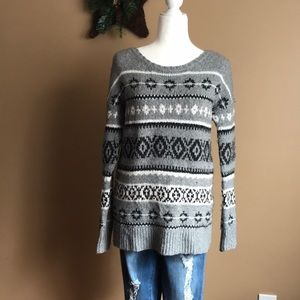 American Eagle Oversize Cable Knit Sweater